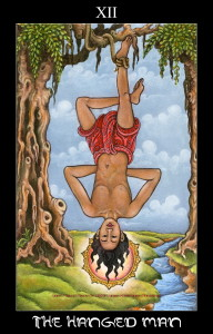 12The Hanged man XIIcw