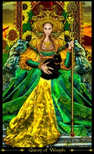 34-Queen-of-Wands-184x300