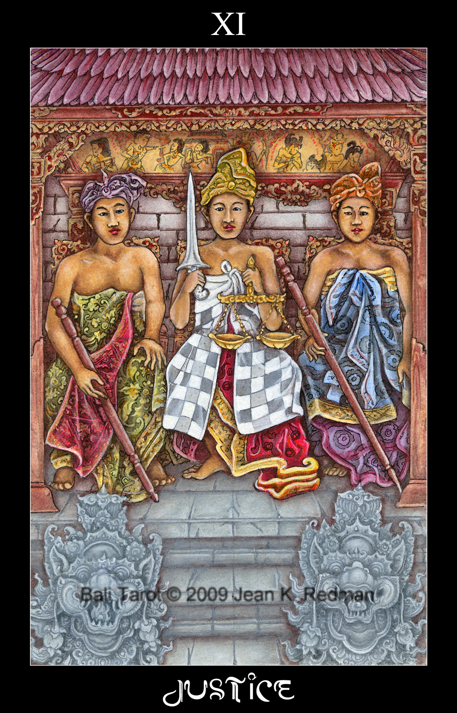 Tarot Cards Justice Or Strength The Number 8 Year